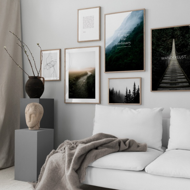 How to Arrange an Art Wall Display